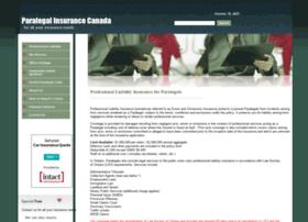 Paralegalinsurance.ca thumbnail