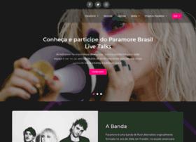 Paramore.com.br thumbnail