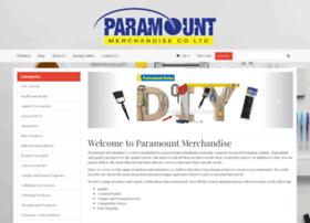 Paramountmerchandise.co.nz thumbnail