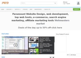 Paramountwebsitedesign.net thumbnail
