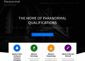 Paranormalacademy.co.uk thumbnail