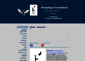 Paraplegicfoundation.in thumbnail