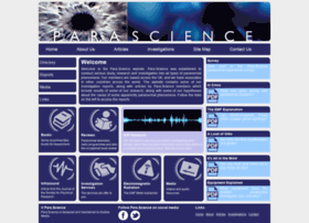 Parascience.org.uk thumbnail