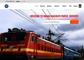 Parcel.indianrail.gov.in thumbnail