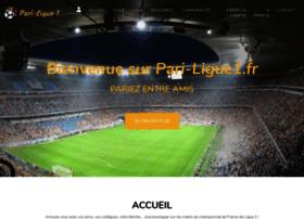 Pari-ligue1.fr thumbnail