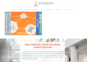 Paristransplantgroup.org thumbnail