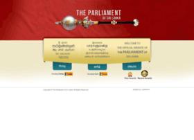 Parliament.lk thumbnail