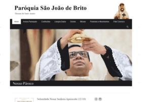 Paroquiasaojoaodebrito.com.br thumbnail