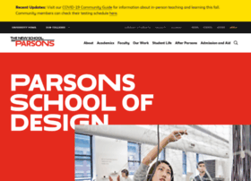 Parsons.newschool.edu thumbnail