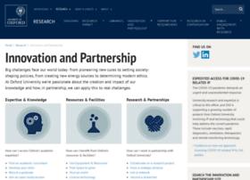 Partnership.ox.ac.uk thumbnail