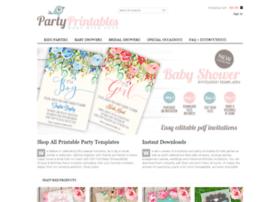 Party-printables.com thumbnail