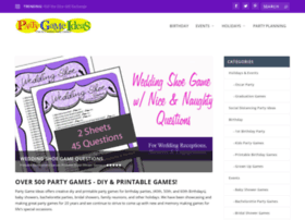 Partygameideas.com thumbnail