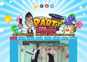 Partyheart.com.sg thumbnail