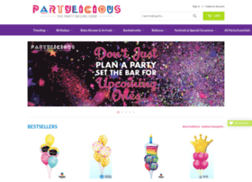 Partylicious.in thumbnail