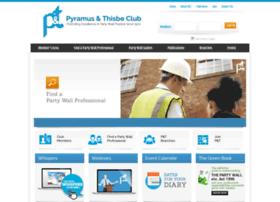 Partywalls.org.uk thumbnail