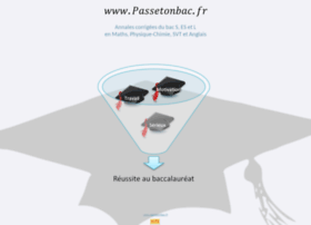 Passetonbac.fr thumbnail