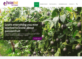 Passionfruit.org.nz thumbnail