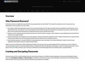 Passwordrecovery.io thumbnail