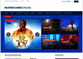 Pastorchrisonline.org thumbnail