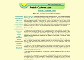 Patch-custom.com thumbnail