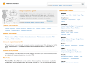 Patentesonline.cl thumbnail