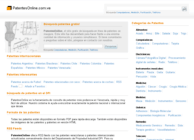 Patentesonline.com.ve thumbnail