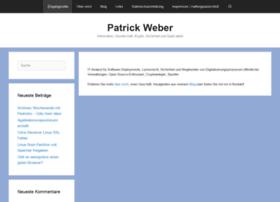 Patrickweber.info thumbnail