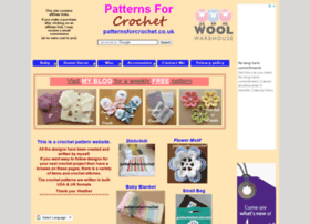 Patternsforcrochet.co.uk thumbnail
