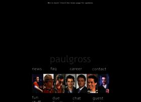 Paulgross.org thumbnail