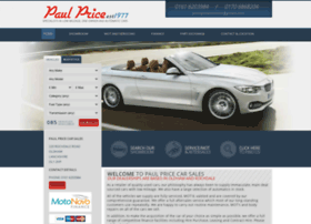 Paulpricecars.co.uk thumbnail