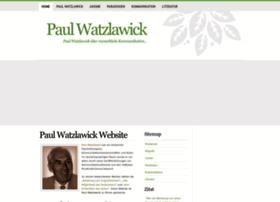 Paulwatzlawick.de thumbnail