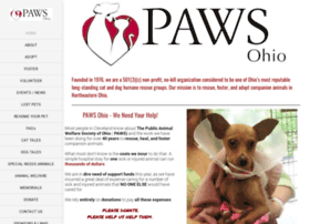 Pawsohio.org thumbnail