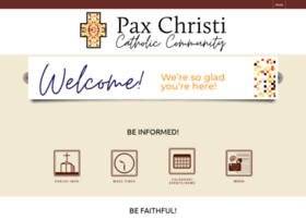 Paxchristi.org thumbnail