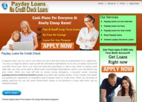 Paydayloansnocreditcheck4u24hrs.co.uk thumbnail