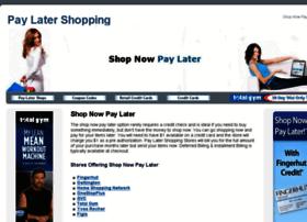 Paylatershops.com thumbnail