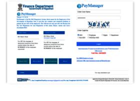 Paymanager2.raj.nic.in thumbnail