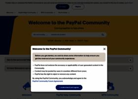 Paypal-community.com thumbnail