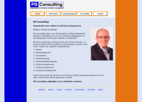 Pbconsulting.nl thumbnail