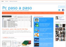 Pcpasoapaso.com.ar thumbnail