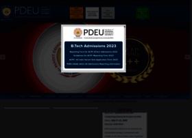 Pdpu.ac.in thumbnail
