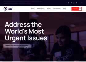 Peacefirstchallenge.org thumbnail
