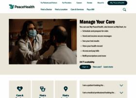 Peacehealth.org thumbnail