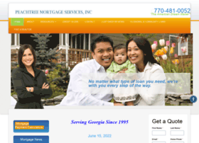 Peachtreemortgageservices.net thumbnail