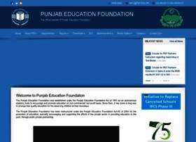 Pef.edu.pk thumbnail