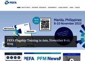 Pefa.org thumbnail