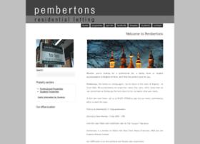 Pembertons.co.uk thumbnail