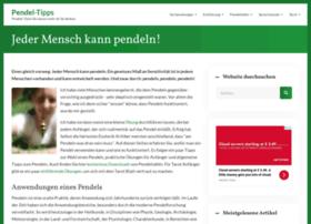 Pendel-tipps.de thumbnail
