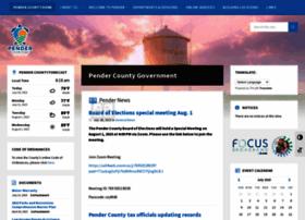 Pendercountync.gov thumbnail