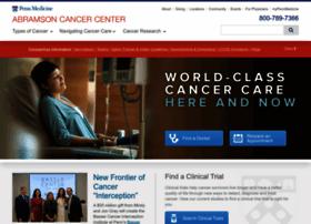 Penncancer.org thumbnail