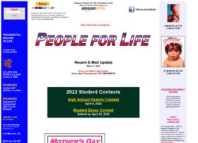 Peopleforlife.org thumbnail